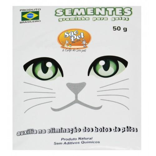 SEMENTES P/ GATOS