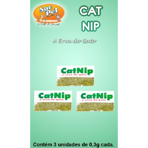 CATNIP - ERVA DO GATO 0,9G