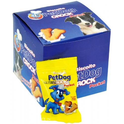 DISPLAY PET DOG CROCK POCKET 20UN