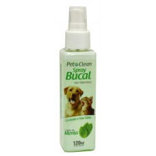 6412 - SPRAY BUCAL PET CLEAN MENTA 120ML