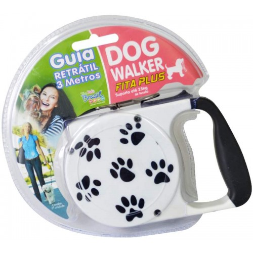 GUIA RETR DOG WALKER PLUS 3M-25KG