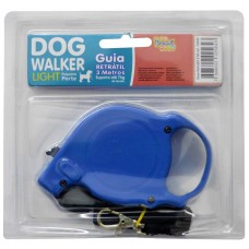 10333 - GUIA RETR DOG WALKER LIGHT 3M-7KG