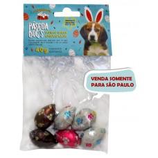 1022 - CARTELA DE OVINHOS PASCOA 40GRS (6 UN)