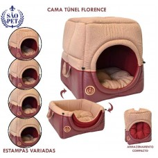 6044-4 - CAMA TUNEL FLORENCE GG RS 56X56X60CM